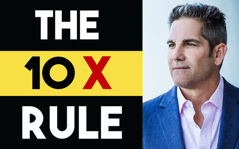 The 10X Rule – Book Summary